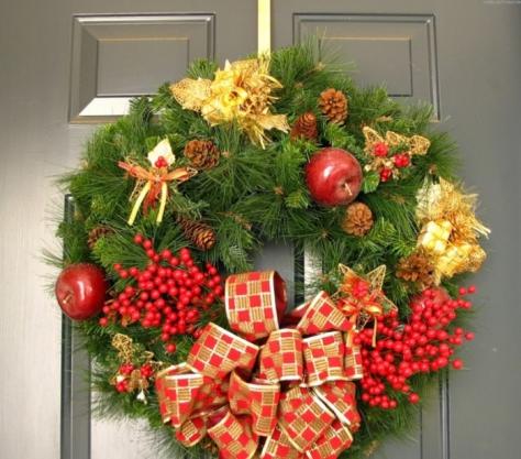 Как украшают к рождеству и новому году